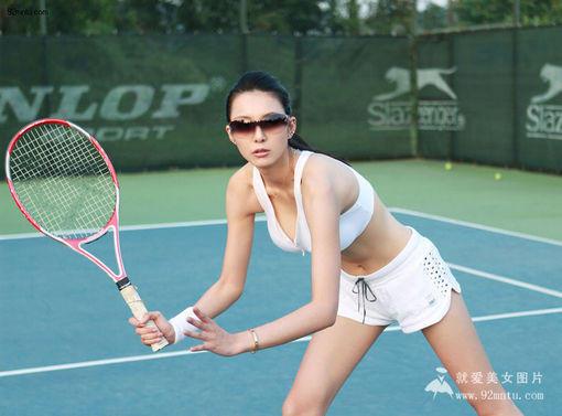 网球美女艾尚真写真图