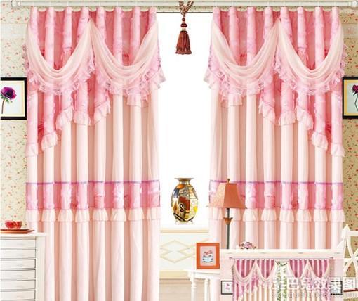 2013新款卧室窗帘效果图