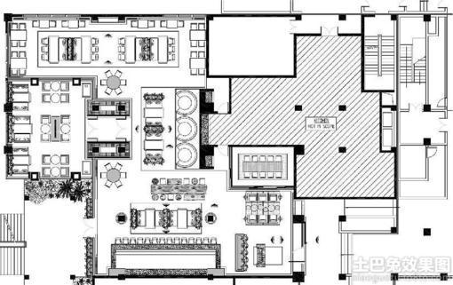 设计图分享 农村四房一厅平面设计图