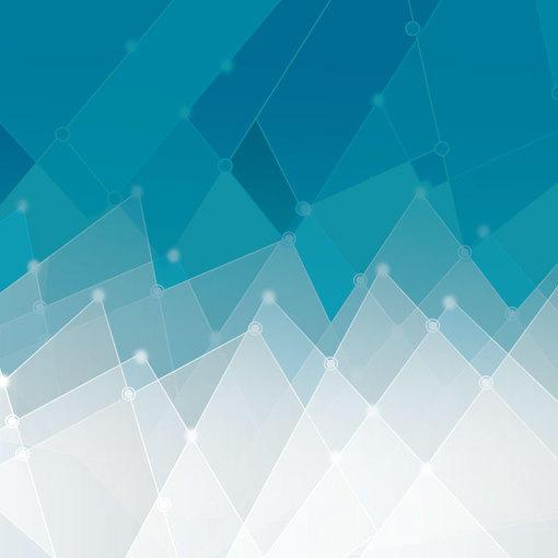 抽象冰棱背景矢量素材