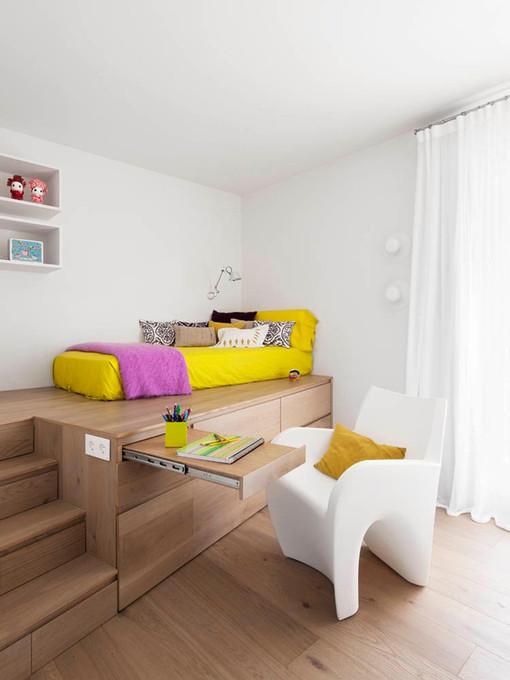 简约女孩卧室装修设计图