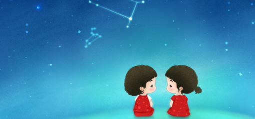 采集大赛#双子娃娃 外向,内向;活泼,安静,都是可爱的双子哦.