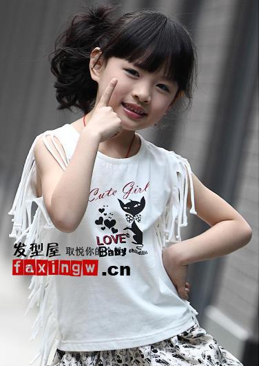 2012夏季最新女儿童发型图片