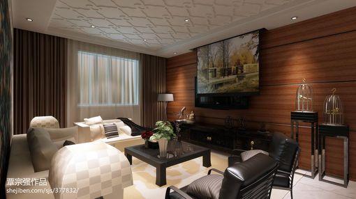 客厅木质电视背景墙效果图大全