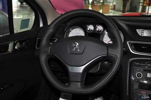 【东风标致3082012款1.6l 自动 罗兰加洛斯版方向盘汽车图片