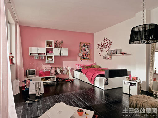 20平米小户型女生单身公寓装修效果图