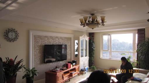 简欧式风格客厅电视背景墙装修效果图大全