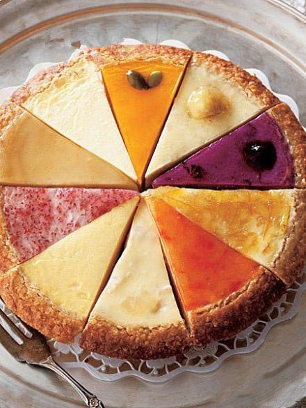 芝士蛋糕拼盘 #甜品# #吃货# #下午茶