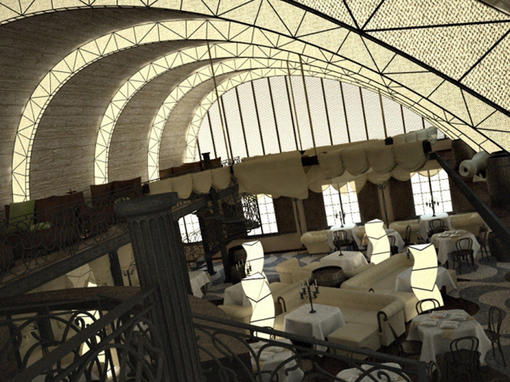 基希讷乌海鲜酒店设计 环境艺术--创意图库 #采集大赛