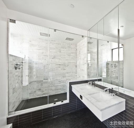 2013卫生间浴室装修效果图欣赏