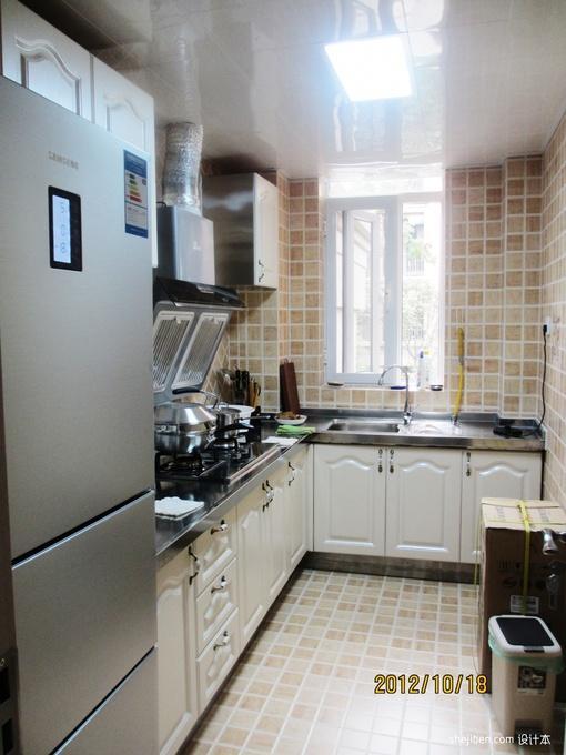 小户型厨房装修案例 小户型厨房装修图 小户型厨房装修