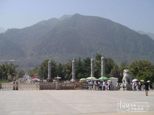 秦岭野生动物园风景美图