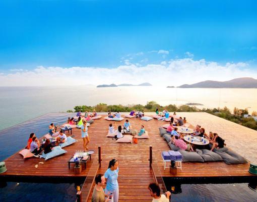 完美的日光浴,泰国普吉岛