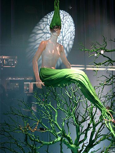 日本橱窗设计欣赏:和光本店 环境艺术--创意图库 #采集大赛