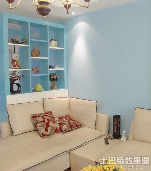 客厅墙面颜色效果图 图片