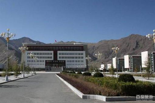 西藏大学风景美图