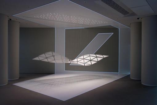 德意志银行品牌空间展厅 – 媒体互动装置设计 / art + com 环境艺术