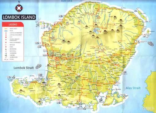 龙目岛风景美图