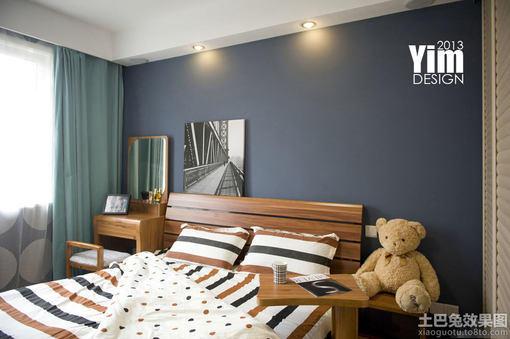 卧室墙面颜色效果图片大全