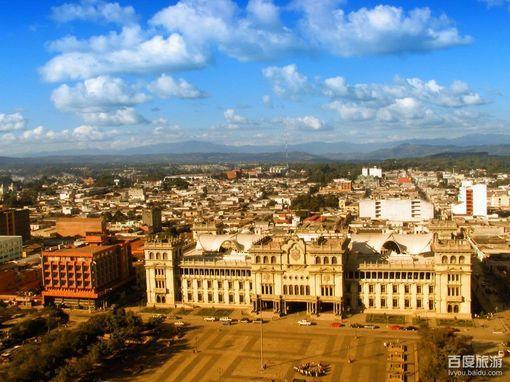 危地马拉城风景美图
