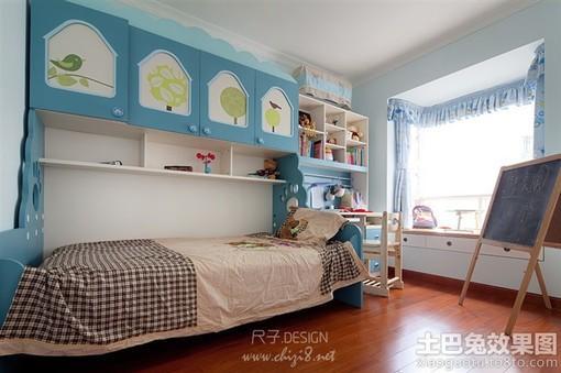 儿童房飘窗设计图欣赏图片