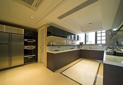 u型厨房装修效果图片欣赏