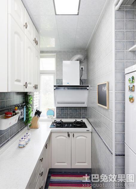 3平米狭长型小厨房装修效果图