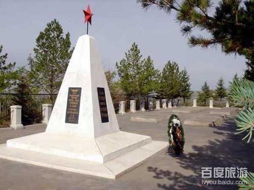 苏联红军烈士陵园风景美图