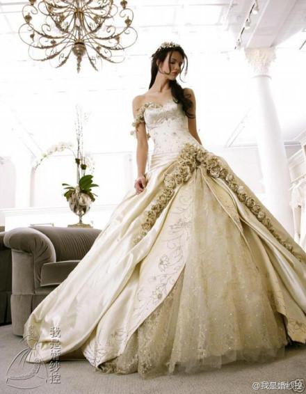 林浅婚纱设计图