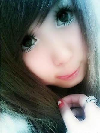 大眼睛可爱xlxl非主流部落美女