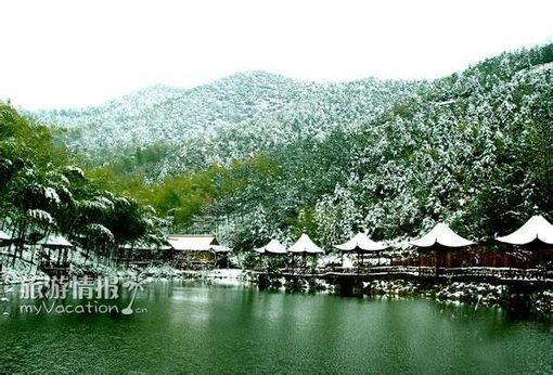 太湖生态泉风景美图