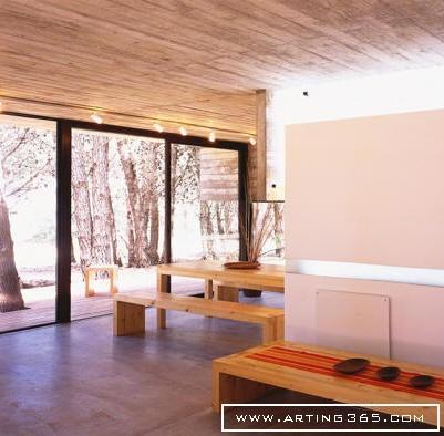 蓝色海住宅设计 环境艺术--创意图库