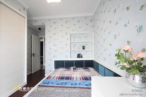 新古典风格儿童房设计实景图