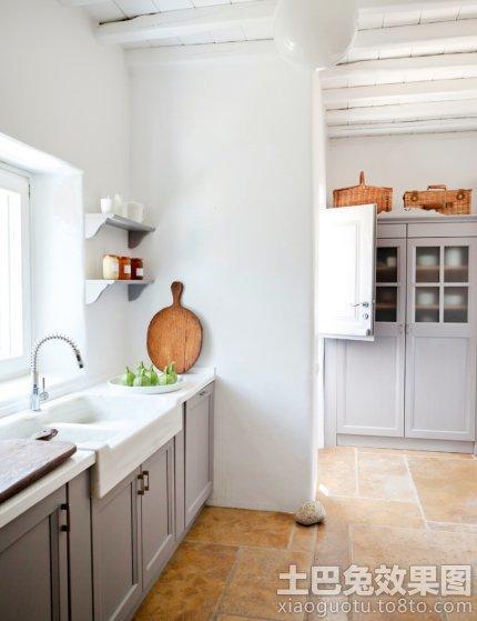 厨房地砖装修设计效果图