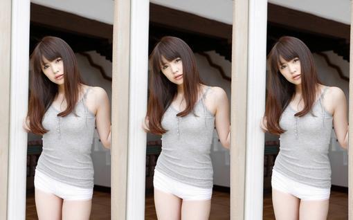 日本山岸志保美女高清壁纸