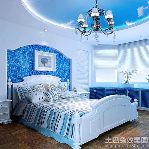 卧室装修地中海风格家具图片