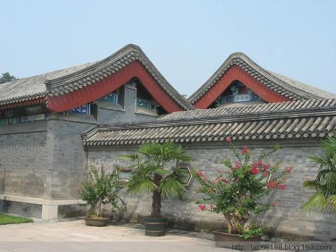 中国古建筑屋顶形式