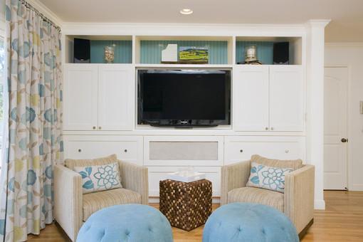 欧式电视柜背景墙设计效果图