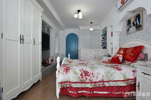 欧式主卧室衣柜装修效果图大全2013图片