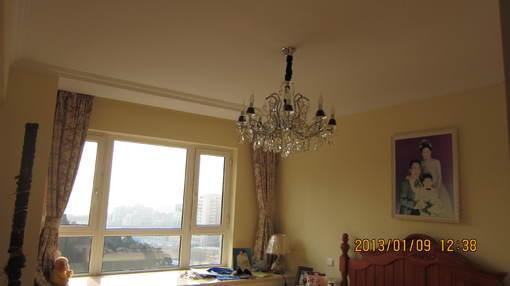 简欧式风格卧室吊灯效果图