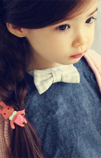 韩国超萌小萝莉 小劳伦lauren 小模特