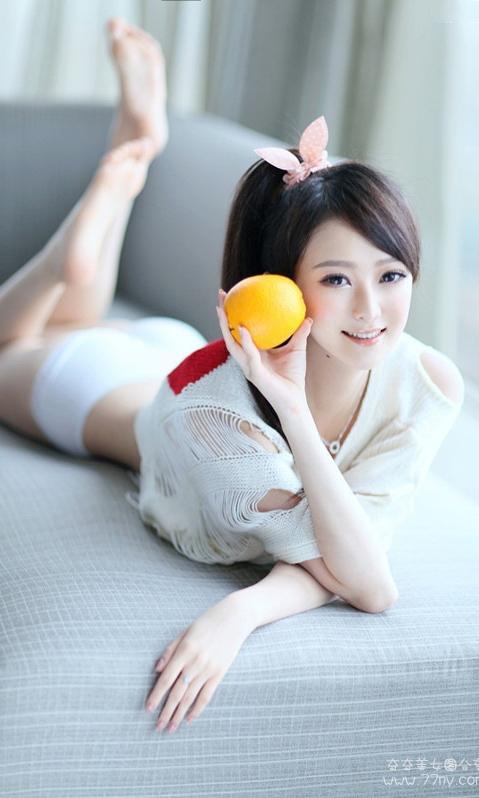 小清新白衣美女手机壁纸480x800安卓墙纸