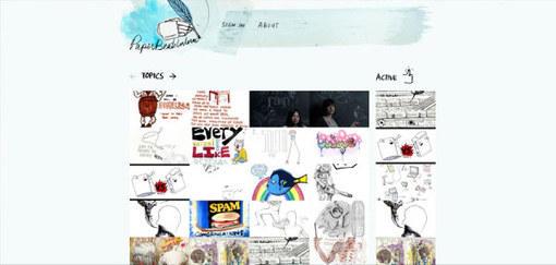 30个优秀手绘风格网页设计欣赏