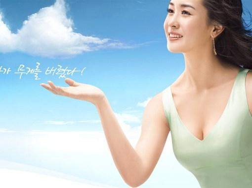 韩国美女李多海电脑桌面壁纸