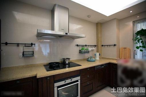 厨房大理石灶台装修图片