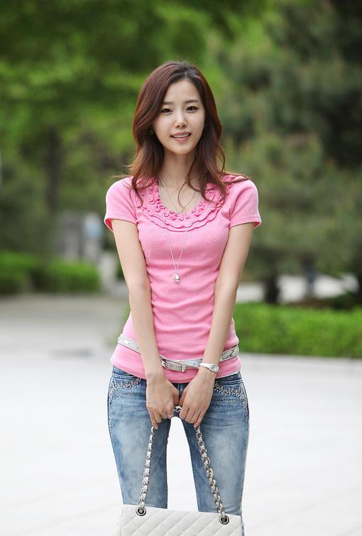金雅然 韩国模特 知名模特 时尚模特 #小清新# #气质# #模特