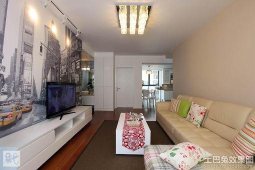 簡單小戶型客廳裝修效果圖欣賞