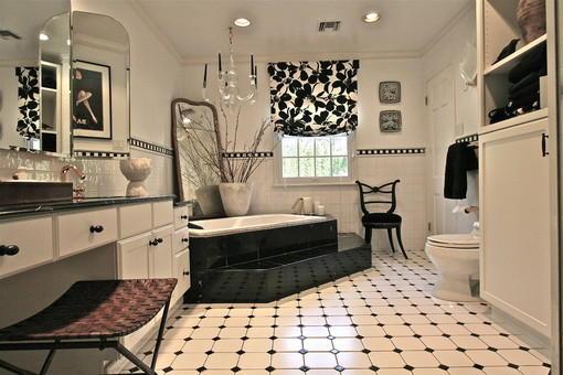 卫生间地板砖装修效果图