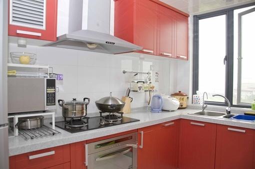 小厨房理石台面装修效果图