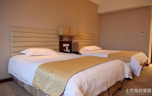 小型宾馆房间装修效果图